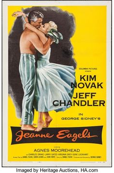 "Movie Posters:Drama, Jeanne Eagels & Other Lot (Columbia, 1957). One Sheets (2) (27""X 41""). Drama.. ... (Total: 2 Items)"