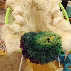 SHAGGY morrocco verde handmade&unique by christina
