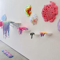 Hashimoto Contemporary Gallery Presents Dan Lam's Delicious Monster Monster Art, Instalation Art, Art Plastique, Sculpture Art, Art Inspo, Cool Art, Contemporary Art, Art Photography, Room Decor