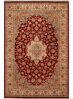Maqsud Of Kashan Carpet Frm The Funerary Mosque Of Shaykh