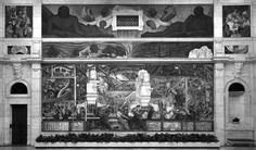 Diego Rivera, La industria de Detroit, muro norte, 1932-1933 © Archivo UNAM