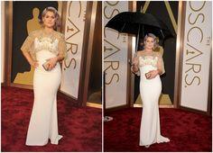 Kelly Osbourne in Badgley Mischka at Academy Awards 2014