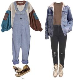 Mode Outfits, Retro Outfits, Grunge Outfits, Vintage Outfits, Casual Outfits, 80s Fashion, Korean Fashion, Fashion Outfits, Fashion Vintage