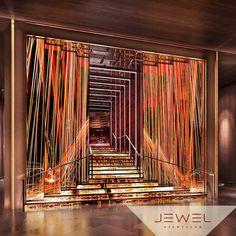 The Most-Anticipated Restaurant and Bar Openings in Las Vegas — Spring 2016 Jewel Location: Aria T. Las Vegas Bars, Nightclub Design, Club Lighting, Restaurant Lounge, Lounge Design, Facade Design, Cafe Bar, Commercial Interiors, Night Club