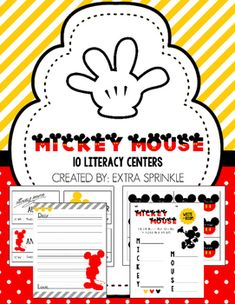 Dear Educator, Thank you for your interest in the Mickey Mouse Literacy Centers package. This package features 10 centers and is a fantastic way to work on essential skills in a very fun and inviting way. The activities included are: - ABC Order: includes 24 cards to alphabetize - Acrostic Poem: includes 2 acrostic poem sheets - Fact & Opinion Sort: Includes 16 fact & opinion statements plus 2 sorting mats - Letter