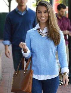 A classic and preppy look in September ... by Hampton Ivy. http://www.hamptonivy.com