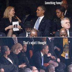 """michelle obama switch seats 