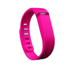 """In honor of Breast Cancer Awareness Month, Fitbit is offering a limited-edition pink Flex activity tracker ($100) with a portion of all sales going to the American Cancer Society. This stylish """"bracelet"""" will help track your sleep, activity levels, and dietary habits."""