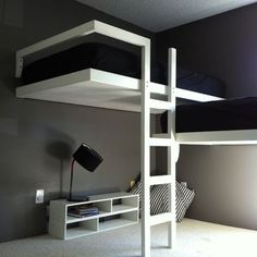 Bunk Beds With Desk Underneath Design, Pictures, Remodel, Decor and Ideas - page 9