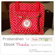 Nähpänz - frech, wild und einzigartig: Probenähen für Timda - Handgemachte Ebook's mit He...