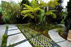 Grasscrete Paving,backyard walkway idea