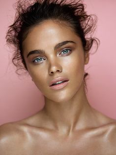 Jena Goldsack, by Gavin O'Neill. Hair & Make-up Bobby Bujisic