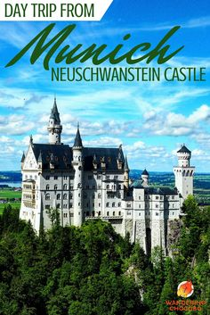 Enjoy the best day trip from Munich to the Disney inspired Neuschwanstein Castle in the German Alps.