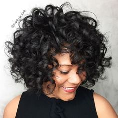 More click [.] Stylist Naturally Curly Haircut Ideas Must Try Ideas That Voluminous Naturally Curly Bob Hairstyle 60 Most Delightful Short Wavy Hairstyles Curly Hair Styles, Haircuts For Curly Hair, Short Wavy Hair, Curly Hair Cuts, Long Curly, Natural Hair Styles, Wavy Hairstyles, Short Haircuts, Beautiful Hairstyles
