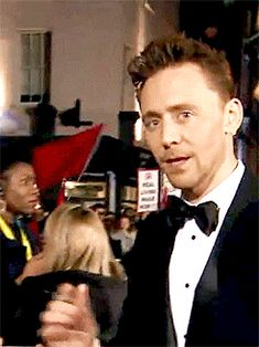 Tom Hiddleston -- BAFTA 2015