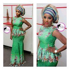 Instyle Fashion Trends: Classy, Lush & Unique Aso-Ebi Outfits - Wedding Digest NaijaWedding Digest Naija