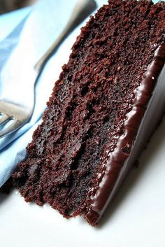 My take on James Martin's Chocolate Cola Cake by Le Petrin, via Flickr