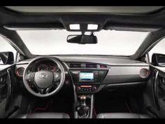 Toyota Auris TS Black Concept Interior Exterior detail photo