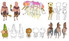 I love Adventure Time and the characters and their different costume changes are just brilliant
