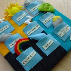 quiet book diy | ... set on Folksy, but the idea could be adapted for a quiet…