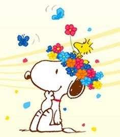 Whimsical Snoopy & Woodstock
