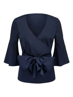 Discover a new wardrobe favourite and channel chic sophistication with our Kelly Fluted Sleeve Wrap Top, sure to see you transition effortlessly from day to night. Fashion Forever, Forever New, New Wardrobe, Flute, Off The Shoulder, Your Style, Camisole, Bell Sleeve Top, Chic