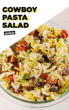 Cowboy Pasta Salad Is Basically A Better Taco SaladDelish