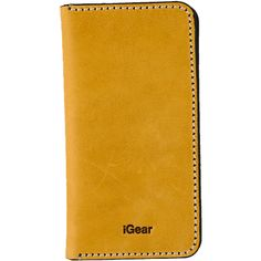 Each and every iPhone deserves an iGear folio case of this quality. The Blonde Folio Case with Raven Stitching is hand crafted to age and gain character over time, not fall apart. It is handcrafted and made with Genuine Leather. The front flap features 3 credit card inserts so you can use your case as your wallet as well. It's perfect for all your adventures!
