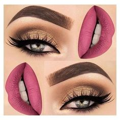 What about this look?? Pink matte lip color + bronzy eye look/smokey witha wing liner ❤ Makep Ideas #4 #beautybay #makeuplook #makeupideas . . #dramaticmakeup #smokeyeye #lipgloss #pinklips #wingliner #bronzyeyes #brows #makeupvibes #morphegirl #glamlook #makeup #beautyblogging #lifestyleblogger #health #reporter #and #beauty #instafashion #instagood #instamakeup #beyourself #dontforget #like4like #followme #linkinbio #makeupideassmokey