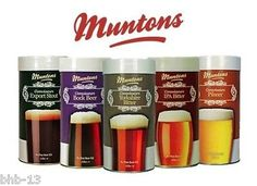 #Muntons connoisseurs 40 pint beer kits - full #range - home brew #brewing,  View more on the LINK: http://www.zeppy.io/product/gb/2/322254365504/