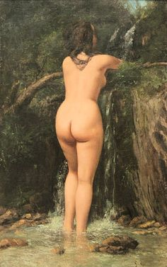La source - Gustave Courbet