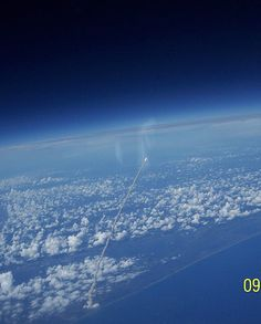 Space shuttle launch from the ISS