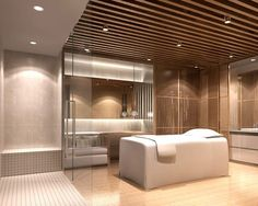Spa Interior Design, Spa Design, Salon Design, Soul Spa, Spa Treatment Room, Spa Treatments, Spa Lighting, Wall Lighting, Spa Rooms