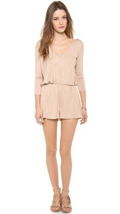 Found a pretty soft jersey #jumpsuit by Rachel Pally for summer...ready to rock with my nude heels AND on #sale today. Use code INTHEFAMILY14