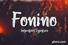 Fonino - Imperfect Typeface Font