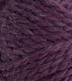 Relief yourself from the winter cold with sweaters made using this super chunky yarn. Explore JOANN for bulky and solid yarns. Crochet Hook Sizes, Crochet Hooks, Super Chunky Yarn, Purple, Plum, Crafts, Collection, Crochet, Manualidades