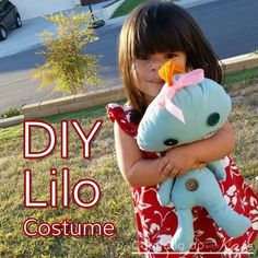 Lilo Costume! DIY Halloween Easy No Sew costume! If you want a Lilo Costume from…
