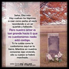 oraciones para difuntos padres - Google Search