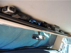FJ Cruiser Above Visor Storage Shelf www.PureFJCruiser.com