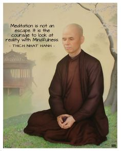 Inspirational Quotes About Success, Great Quotes, Buddhist Quotes, Thich Nhat Hanh, Thought Bubbles, Mindfulness Meditation, Thought Provoking, Buddhism, Favorite Quotes
