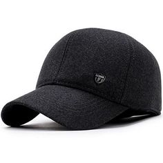 680d56baf2a Men Snap-back Baseball Cap Brand Bone Ear flaps Dad Hats For Men Chapeau  Thicken