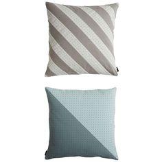 Dotti kudde, grå/blå – OYOY – Köp online på Rum21.se