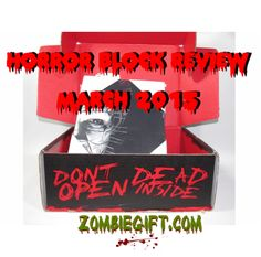 We get our hands on the Horror Block subscription box for the first time. Do we recommend it? Check out the review for all the details! http://www.zombiegift.com/zombie-blog/2015/04/08/horror-block-review-march-2015/