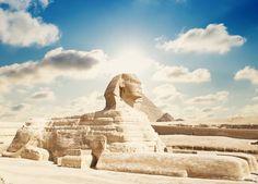 Sphinx in Egypt. (*Shutterstock)