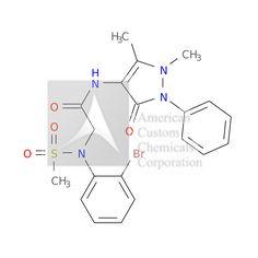 2-(2-BROMO-N-METHYLSULFONYLANILINO)-N-(1,5-DIMETHYL-3-OXO-2-PHENYLPYRAZOL-4-YL)ACETAMIDE is now  available at ACC Corporation