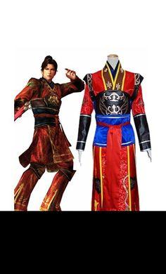 Dynasty Warriors Shin Sangokumusou Ryou Tou Cosplay Outfits Costumes