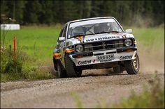 Mikko-Hirvonen - Ford - Lahti Historic Rally