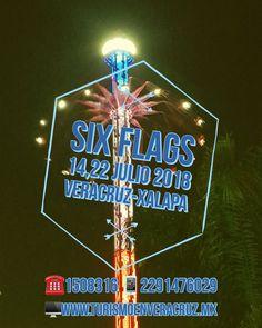Vamos este #verano a #SixFlags saliendo de Veracruz, Cardel y Xalapa este 14 y 22 de julio  📞OFICINA 1508316 📱 WhatsApp 2291476029 📨 turismoenveracruz@gmail.com 🌐 http://www.veracruztour.com/promociones.htm  #excursion #tour #pasemagico #excursiones