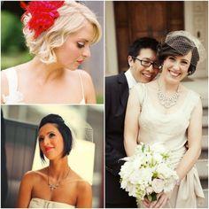short hairstyles for hottie brides  cute short hair
