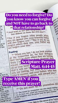Scriptures For Kids, Prayer Scriptures, Bible Prayers, Scripture Quotes, Faith Quotes, Bible Verses, Bible Journaling For Beginners, Bible Studies For Beginners, Bible Study Tips
